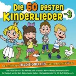 DIE 60 BESTEN.. .. KINDERLIEDER // FAMILIE SONNTAG - TRADITIONELLE LIED V/A, CD