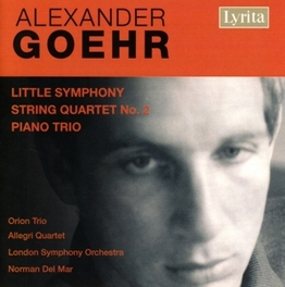 LITTLE SYMPHONY OP.15 ALLEGRI QUARTET, LONDON S.O. Audio CD, A. GOEHR, CD