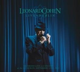 LIVE IN DUBLIN -CD+BLRY- 3CD+BLRY LEONARD COHEN, CD