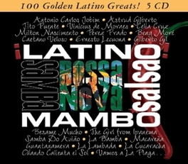 100 GOLDEN LATINO GREATS V/A, CD