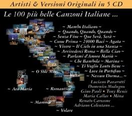 LE 100 PIU BELLE.. .. CANZONI ITALIANE V/A, CD