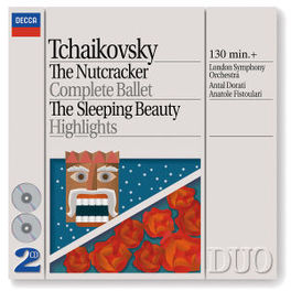 NUTCRACKER/SLEEPING BEAUT LSO/DORATI Audio CD, P.I. TCHAIKOVSKY, CD