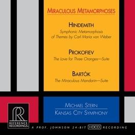 MIRACULOUS METAMORPHOSES KANSAS CITY SYMPHONY ORCH, CD