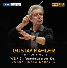 SYMPHONY NO.5 WDR S.O.KOLN/JUKKA-PEKKA SARASTE G. MAHLER, CD
