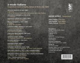A MODO ITALIANO JAVIER NUNEZ, CD