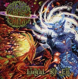 LUGAL KI EN TECHNICAL DEATH METAL RINGS OF SATURN, CD