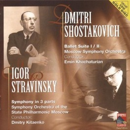 BALLET SUITE/SYMPH.IN 3 P MOSCOW SYMPH.ORCH./KHACHATURIAN Audio CD, SHOSTAKOVICH/STRAVINSKY, CD