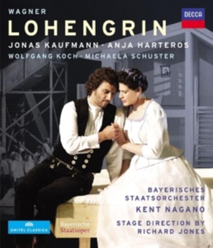 Kaufmann/Harteros/Koch/Schuster/Fis - Lohengrin, (Blu-Ray) KAUFMANN/HARTEROS/KOCH/SCHUSTER/FISCHESSER R. WAGNER, Blu-Ray