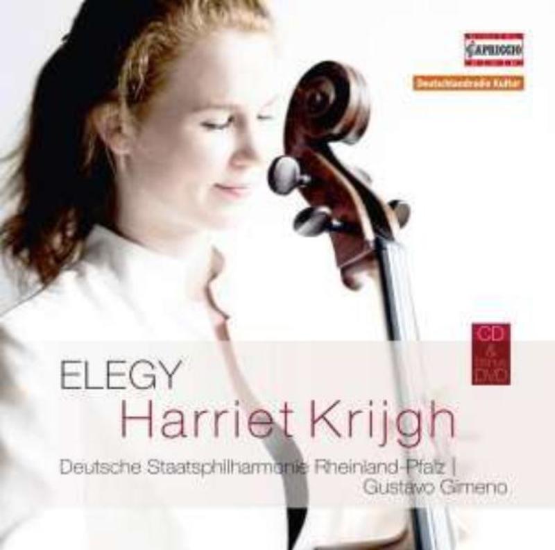 ELEGY DEUTSCHE STAATSPHILHARMONIE RHEINLAND-PFALZ/ AKL 2015 HARRIET KRIJGH, CD