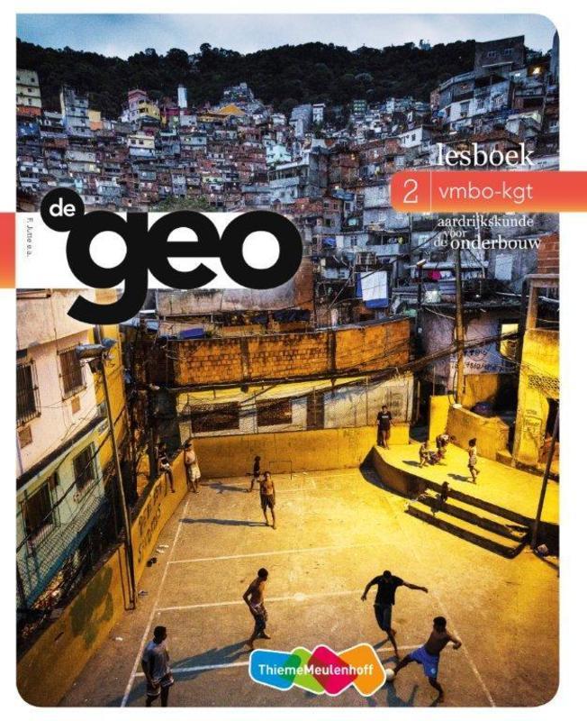 De Geo: 2 vmbo-kgt: Lesboek aardrijkskunde voor de onderbouw, F. Jutte, Paperback