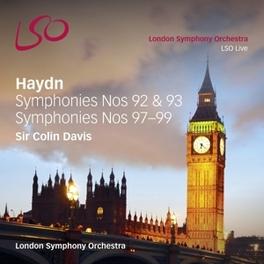 SYMPHONIES NO.92,93,97-99 LONDON SYMPHONY ORCHESTRA/COLIN DAVIS J. HAYDN, CD