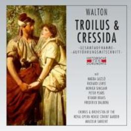 TROILUS & CRESSIDA 1954 LONDON, MALCOM SARGENT W. WALTON, CD