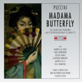 MADAMA BUTTERFLY 1962 NEW YORK, FAUSTO CLEVA G. PUCCINI, CD