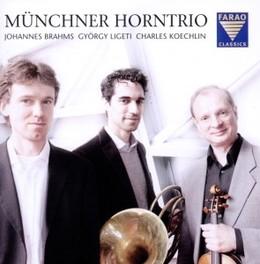 HORN TRIOS BY BRAHMS, LIG MUNCHNER HORNTRIO, CD