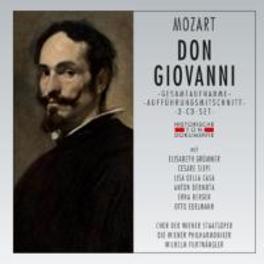 DON GIOVANNI -3CD- 1954 SALZBURG, WILHELM FURTWANGLER W.A. MOZART, CD