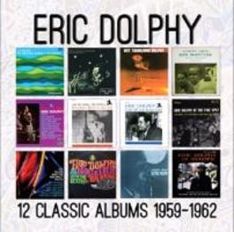 12 CLASSIC ALBUMS: 1959.. .. - 1962 ERIC DOLPHY, CD