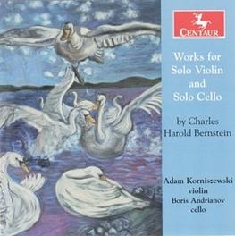WORKS FOR SOLO VIOLIN ADAM KORNISZEWSKI C.H. BERNSTEIN, CD