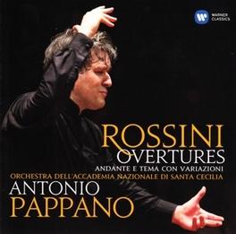 OVERTURES ANTONIO PAPPANO/ORCH.DELL ACC.NAZ.ST.CECILIA ROSSINI, G., CD