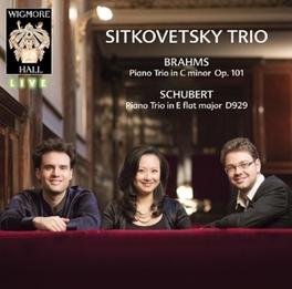 PIANO TRIOS SITKOVETSKY TRIO BRAHMS/SCHUBERT, CD