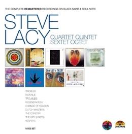 COMPLETE BLACK.. .. SAINT/SOUL NOTE RECORDS STEVE LACY, CD