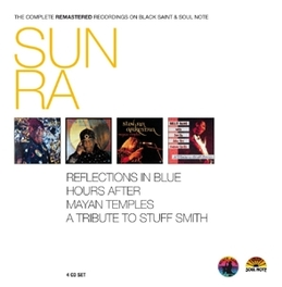 COMPLETE BLACK.. .. SAINT/SOUL NOTE RECORDS SUN RA, CD