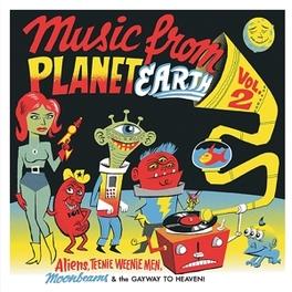 MUSIC FROM PLANET EARTH.2 .. VOLUME 2 V/A, Vinyl LP