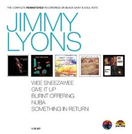 COMPLETE BLACK SAINT/SOUL JIMMY LYONS, CD
