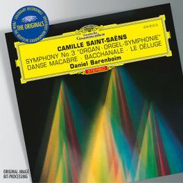 SYMPHONY NO.3/BACCHANALE CHICAGO S.O./DANIEL BARENBOIM SAINT-SAENS, C., CD