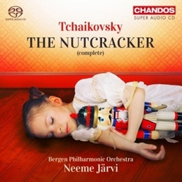 NUTCRACKER -COMPLETE- BERGEN P.O./NEEME JARVI P.I. TCHAIKOVSKY, CD