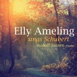 SINGS SCHUBERT RUDOLF JANSEN ELLY AMELING, CD