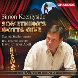 SOMETHING'S GOTTA GIVE SIMON KEENLYSIDE, CD
