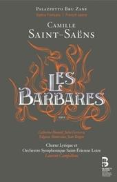 LES BARBARES ORCH.SYM.SAINT-ETIENNE LOIRE//+BOOK SAINT-SAENS, C., CD