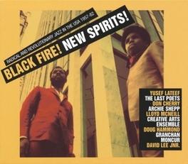 BLACK FIRE!NEW SPIRIT! * DEEP & RADICAL JAZZ IN THE USA 1957-75 * V/A, Vinyl LP