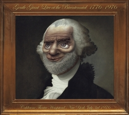 LIVE AT THE.. .. BICENTENNIAL 1976/2CD IN LUXE DIGI,FIRST TIME ON CD GENTLE GIANT, CD