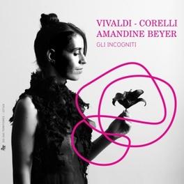 VIVALDI/CORELLI AMANDINE BEYER Vivaldi, CD