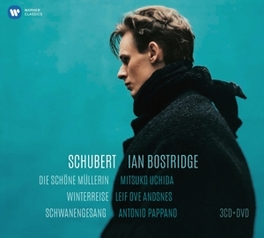 DIE SCHONE.. -CD+DVD- IAN BOSTRIDGE/MITSUKO UCHIDA/LEIF OVE ANDSNES/PAPPANO F. SCHUBERT, CD