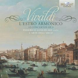L'ESTRO ARMONICO L'ARTE DELL'ARCO/FEDERICO GUGLIELMO A. VIVALDI, CD