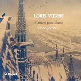 L'OEUVRE POUR PIANO OLIVIER GARDON L. VIERNE, CD