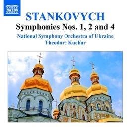 SYMPHONIES NO.1,2 & 4 NATIONAL S.O.OF UKRAINE/THEODORE KUCHAR Y. STANKOVYCH, CD