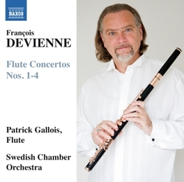 FLUTE CONCERTOS NO.1-4 SWEDISH CHAMBER ORCHESTRA/PATRICK GALLOIS F. DEVIENNE, CD