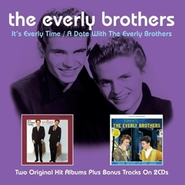 IT'S EVERLY TIME/A DATE.. .. WITH THE EVERLY BROTHERS EVERLY BROTHERS, CD