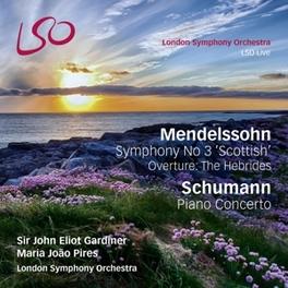 SYMPHONY NO.3 IN.. -SACD- JOHN ELLIOTT GARDINER/LSO/PIRES MENDELSSOHN/SCHUMANN, CD