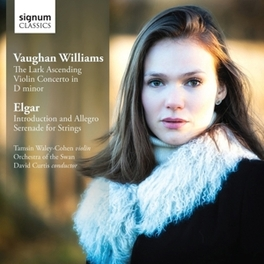 LARK.. ORCHESTRA OF THE SWAN/DAVID CURTIS/T.WALEY-COHEN VAUGHAN-WILLIAMS/ELGAR, CD