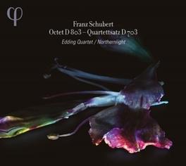 OCTET D803 EDDING QUARTET F. SCHUBERT, CD