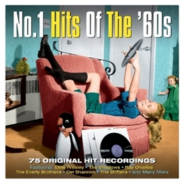 NO.1 HITS OF THE 60'S FEAT. ELVIS PRESLEY/SHADOWS/RAY CHARLES/EVERLY BROS + V/A, CD