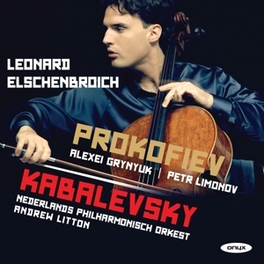 CELLO CONCERTOS NEDERLANDS PHIL.ORKEST/ANDREW LITTON PROKOFIEV/KABALEVSKY, CD