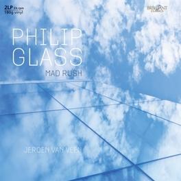 MAD RUSH JEROEN VAN VEEN PHILIP GLASS, Vinyl LP