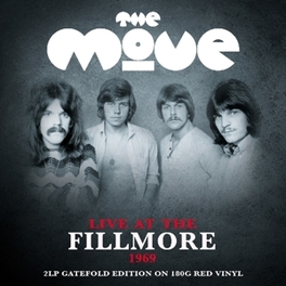 LIVE AT THE FILLMORE -HQ- .. 1969 / 180GR. 2LP ON TRANSPARENT RED VINYL MOVE, Vinyl LP