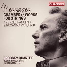MESSAGES BRODSKY QURATET/SMISSEN/MAY PANUFNIK, A. & R., CD