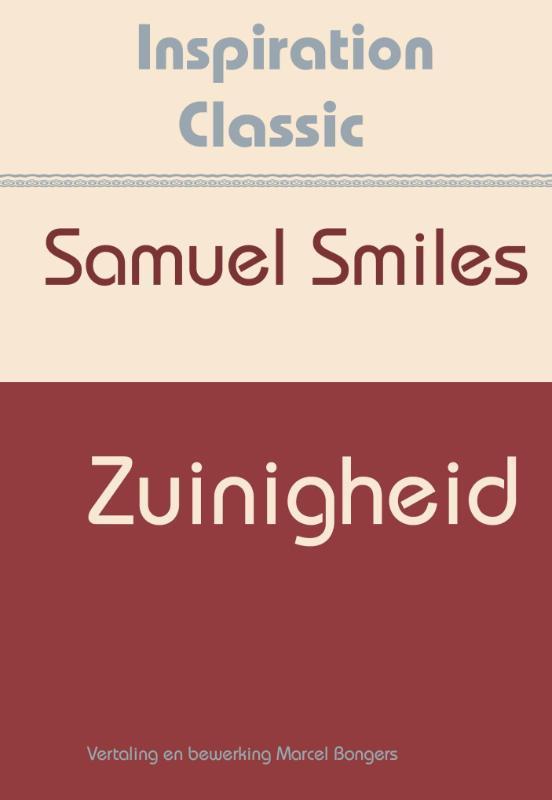 Zuinigheid Inspiration Classic, Smiles, Samuel, Paperback